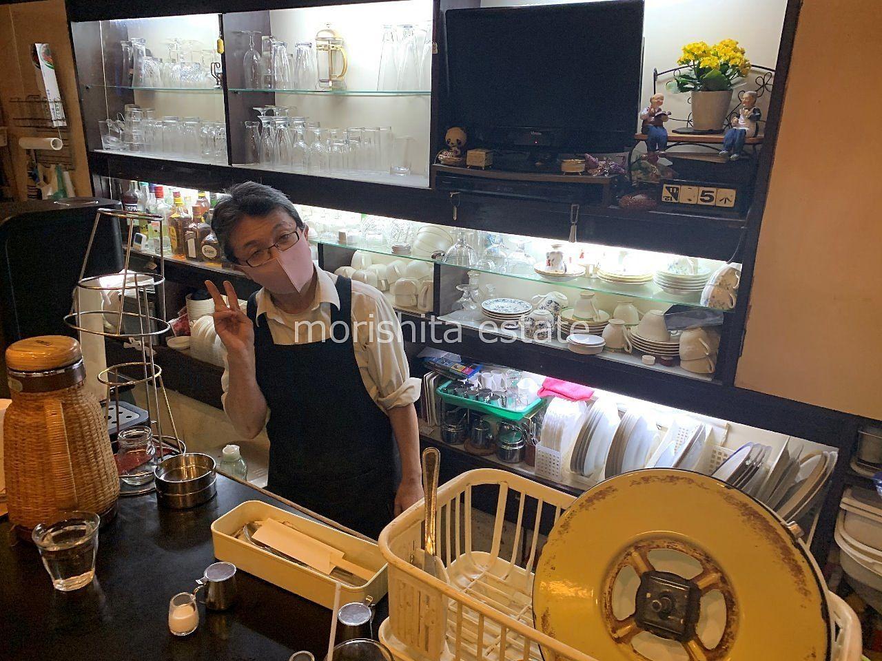 門前仲町 コーヒー カヨ 喫茶店 喫煙可 ランチ 写真