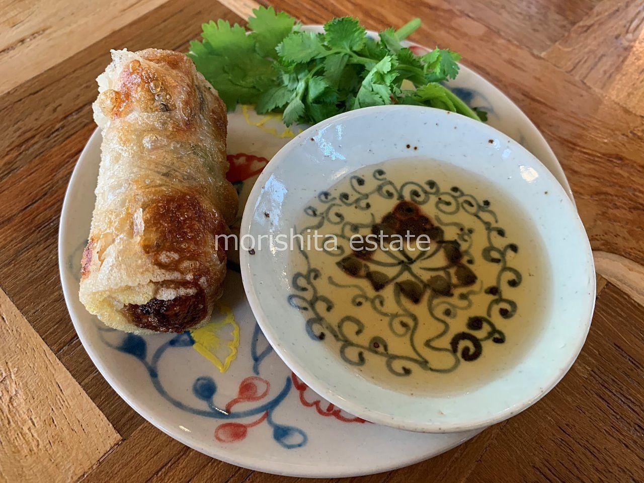 清澄白河 ベトナム料理 フォー 揚げ春巻き ランチ 写真