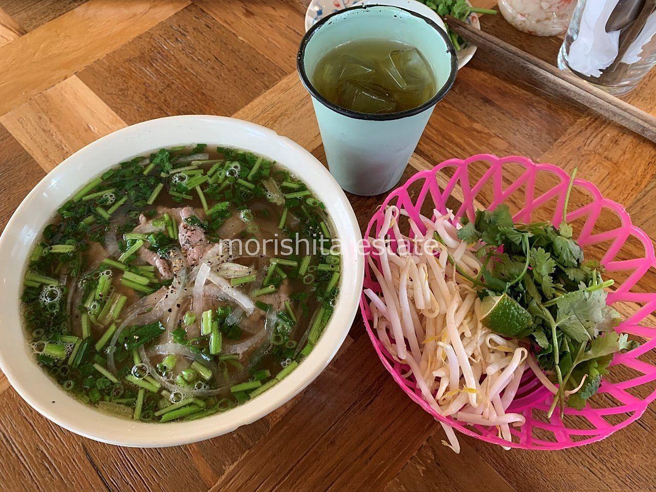 清澄白河 ベトナム料理 フォー ハス茶 ランチ 写真