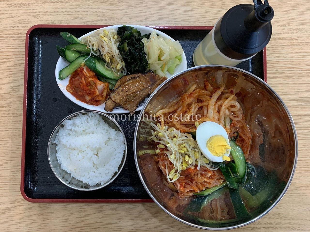 ソウル市場 高橋 焼肉 ビビン麺 キムチ お弁当 写真