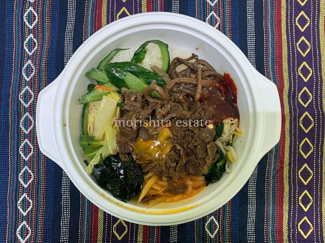 ソウル市場 高橋 焼肉 ビビンバ キムチ お弁当 写真