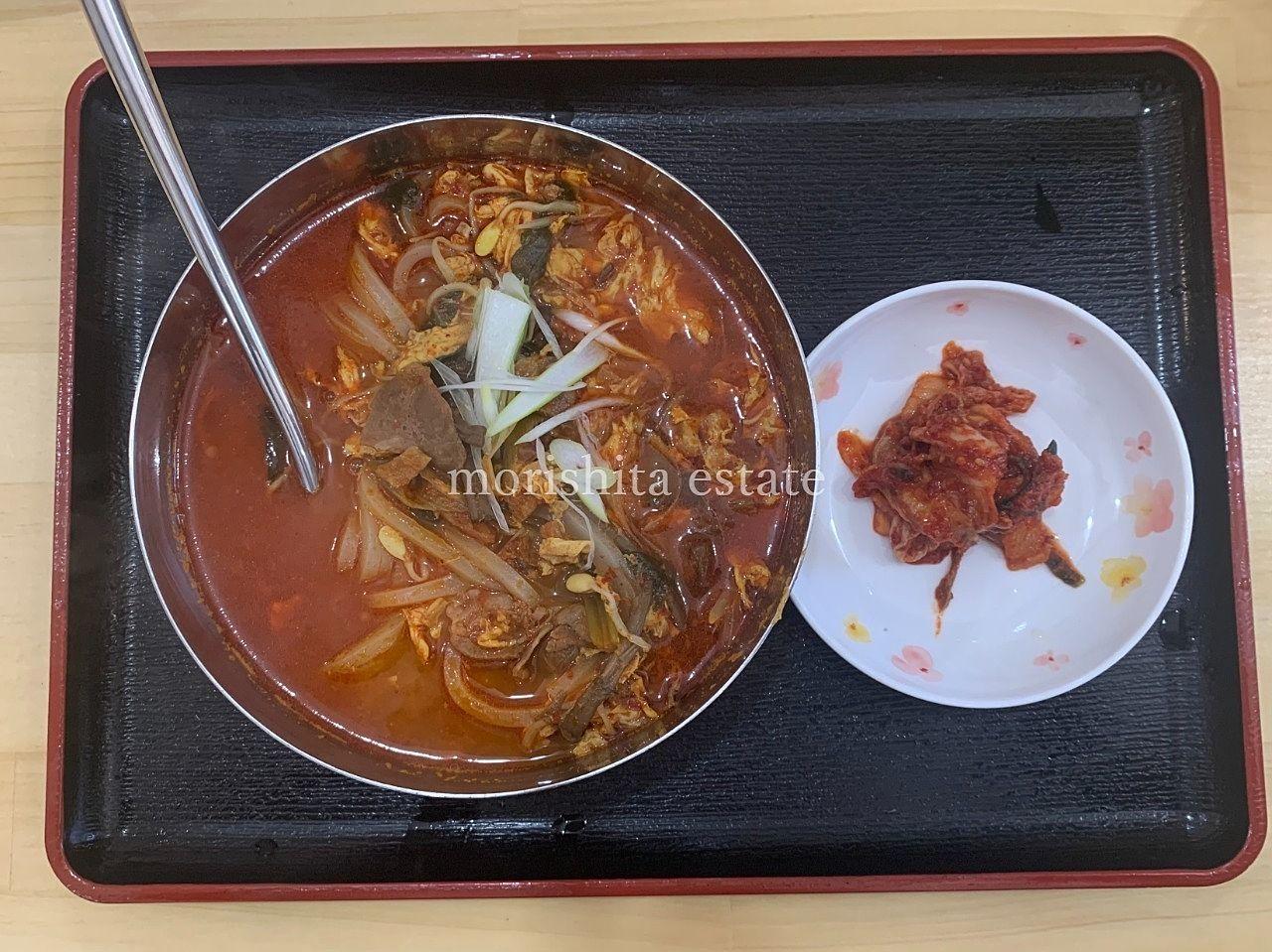 ソウル市場 高橋 焼肉 テグタン キムチ お弁当 写真