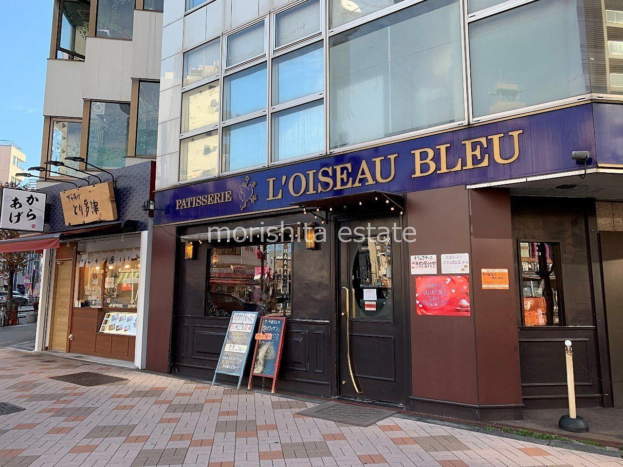 森下 洋菓子 L'OISEAU BLEU からあげ とり多津 外観写真