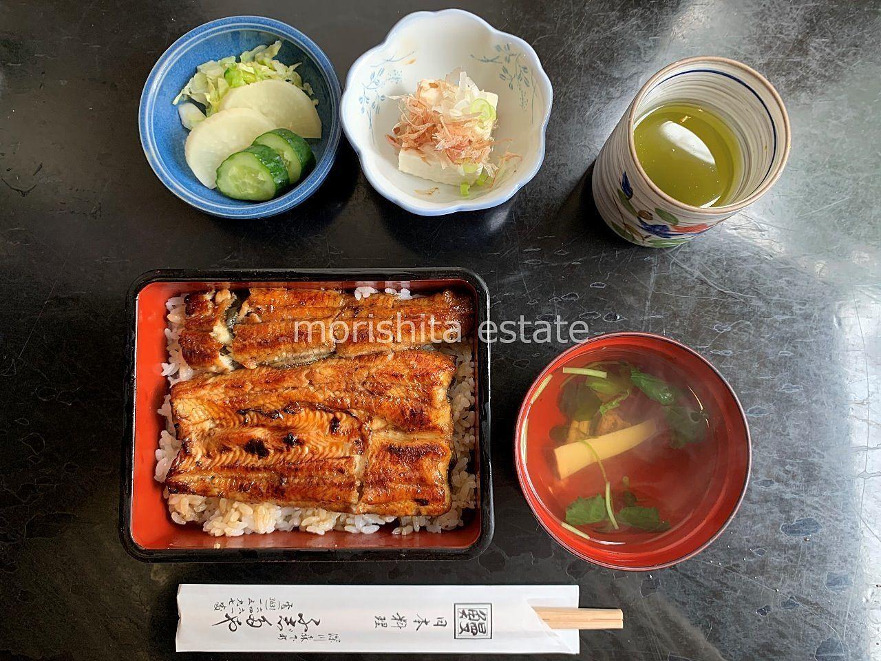 森下 老舗 うなぎ どじょう 天ぷら お弁当 写真